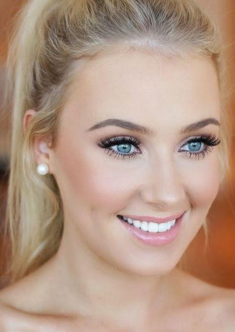 Blond blaue augen make up
